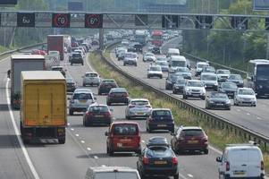 motorists in tamworth warned of rush-hour delays after emergency repairs near the m42