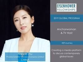 nancie zhu from china named as eisenhower fellow