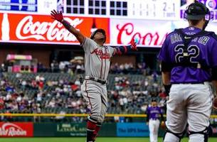 ronald acuna jr. drill 3rd jack of the year in braves win over rockies