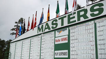 masters weather forecast: monitoring rain, thunderstorm chances at augusta national