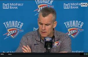 billy donovan talks thunder 112-111 win over rockets