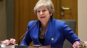 brexit: may to be told eu brexit delay decision