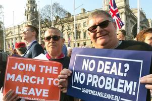 pro-brexit march will take place in nottingham on saturday april 13