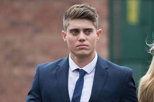 cricketer alex hepburn accused of rape 'had slept with 20 women during whatsapp contest', court told