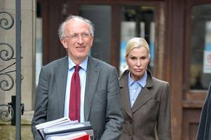 estranged wife of german tycoon says she cannot find a hairdresser in england