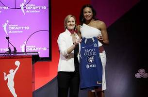 lynx select forward collier with first-round pick of 2019 draft