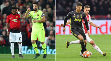 Barcelona Holds Off Man United; Ajax in Familiar Place vs. Juventus in UCL