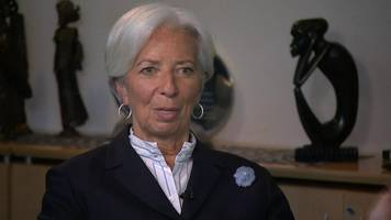 imf boss: prolonged brexit uncertainty would have negative impact on economy
