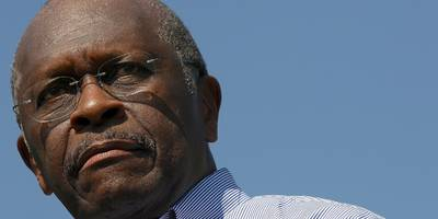 former pizza-chain ceo herman cain's appointment to the federal reserve looks like it's dead in the water
