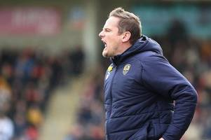 neal ardley not taxed by notts county's high court problems as he plots football league survival