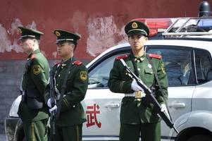 chinese police seize drug shipment concealed in banana truck