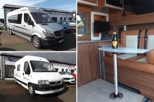 murdo murchison's campervans give you the gift of a permanent holiday home