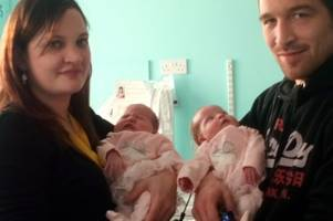 scots twin babies born with holes in their hearts contract serious infections in neonatal unit