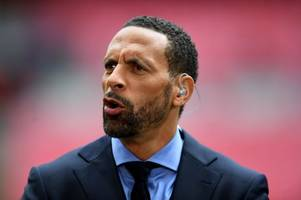 spurs, liverpool & manchester united fans will love rio ferdinand's champions league prediction