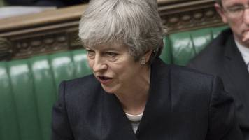 may defends decision to delay brexit