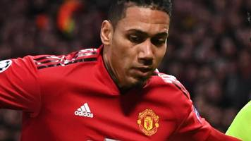 chris smalling: man utd defender on messi, losing his dad aged five & fan abuse