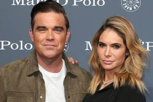robbie williams and wife ayda field will not return to the x factor - but tease 'big announcement'