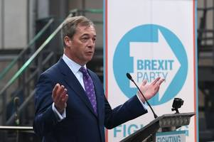 Annunziata Rees-Mogg star turn in Nigel Farage's Brexit Party for EU elections