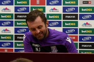 every word from nathan jones's press conference on moritz bauer, emulating swansea and taking on a very good friend