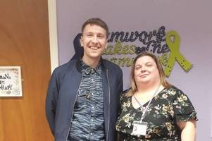 this is why comedian joe lycett was in tamworth