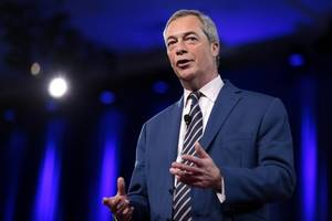 nigel farage claims parliament needs to 'fear the electorate'