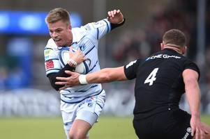 connacht v cardiff blues team news: gareth anscombe skippers blues from no 10 in must-win clash