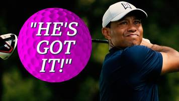 2019 masters: tiger woods makes 'spectacular' recovery to birdie the 14th