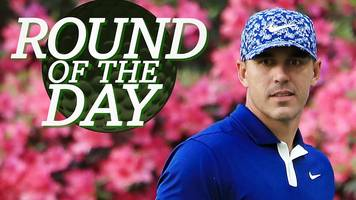 masters 2019: brooks koepka's 'magnificent' round on day one