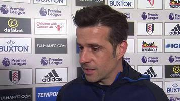 fulham 2-0 everton: david silva says toffees not aggressive enough