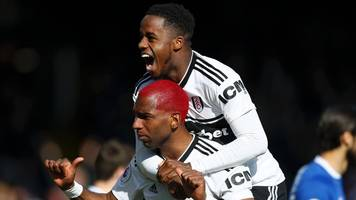 fulham 2-0 everton: ryan babel and tom cairney earn cottagers win