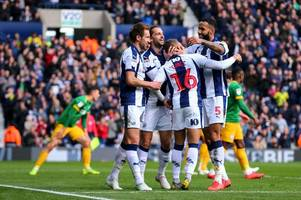 'much more like it' west brom player ratings as albion thrash preston at the hawthorns