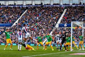 west brom 4 preston 1 - dwight gayle hat-trick fires the baggies to victory