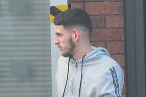 nurses call in cops after this man takes £140 bag of cannabis to royal stoke a&e (plus eight other court cases)