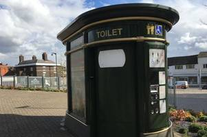 'they take drugs and sleep in there...' - traders call for these town centre toilets taken over by addicts and rough sleepers to be removed