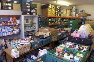 warning: stoke-on-trent foodbank will run out of stock as record twelve thousand food parcels handed to cash-strapped families in one year