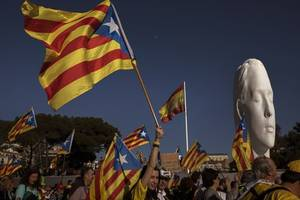 jailed catalan leaders ease position on post-election coalition talks