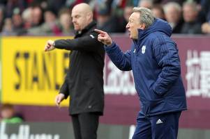 burnley boss sean dyche lauds 'brave' referee and tells cardiff city he got penalty decision right