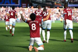 Felipe Anderson backed to end his goal drought for West Ham against Manchester United