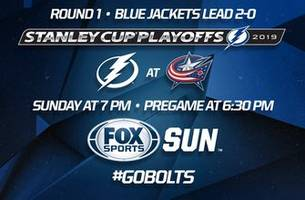 Preview: Lightning trail 2-0 vs. Blue Jackets as series shifts to Columbus