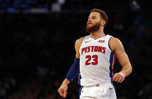 Pistons' Blake Griffin out for Game 1 vs. Bucks