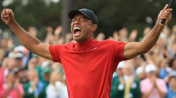 Masters 2019: Tiger Woods wins 15th major with thrilling Augusta victory