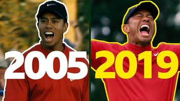 Masters 2019: Tiger Woods 2005 v 2019 - spot the difference