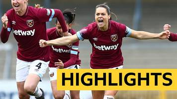 women's fa cup: west ham beat reading on penalties - highlights