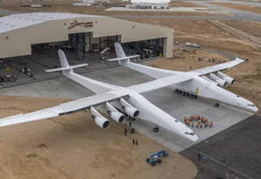The Biggest Plane Ever Built Took its First Flight Today