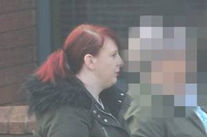 police search this woman, 27, and find monkey dust stuffed down her bra (and here's who else has been in court)