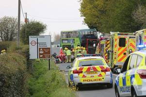 one dead and 22 injured after horror double-decker bus smash on isle of wight