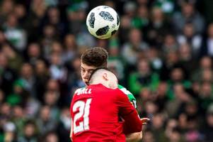 the moment ryan christie suffers sickening head knock as celtic star rushed to hospital