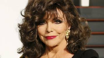 Joan Collins flees 'terrifying' fire in Belgravia flat