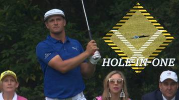 masters 2019: bryson dechambeau hits hole-in-one on 16th at augusta