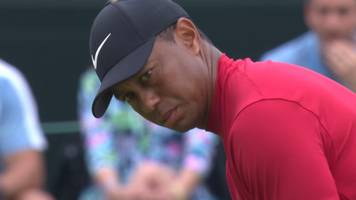 masters 2019: tiger woods takes outright lead after birdie on 15